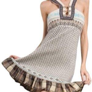 New ** Free People Lamp Wool Sweater Dress - M